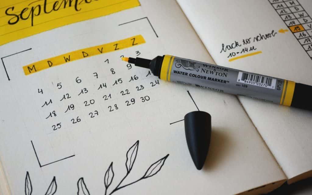 Septiembre: vuelta a la normalidad. ¡Organizar nuestra agenda, retomar nuestra rutina y fijar nuevos retos!